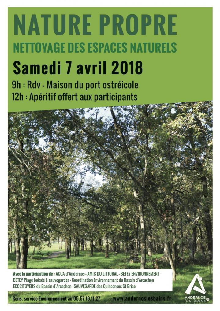Affiche nature propre 2018